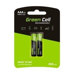 Baterie Paluszki Green Cell 2xAAA HR03