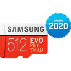 Karta pamięci Samsung microSD z adapterem EVO Plus 2020 512 GB