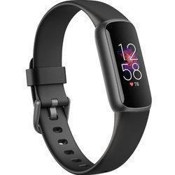 Opaska sportowa - Smartband Fitbit Luxe czarny
