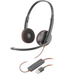 Słuchawki z mikrofonem Plantronics Blackwire C3220 USB-A