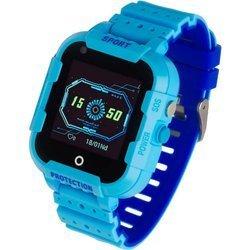 Zegarek - Smartwatch dla dzieci Garett Kids 4G niebieski