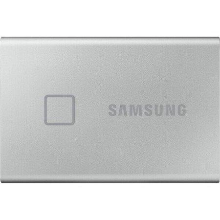 Dysk przenośny SSD Samsung T7 500 GB srebrny