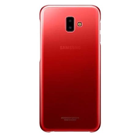 Etui Case Gradation Cover do Samsung Galaxy J6+ czerwone