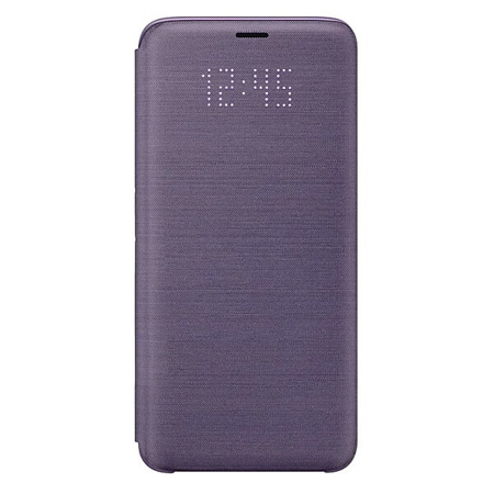 Etui LED View Cover do Samsung Galaxy S9 fioletowe