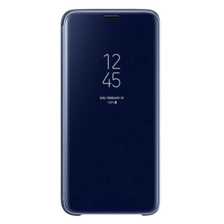 Etui Samsung Clear View Standing Cover do Galaxy S9 niebieskie
