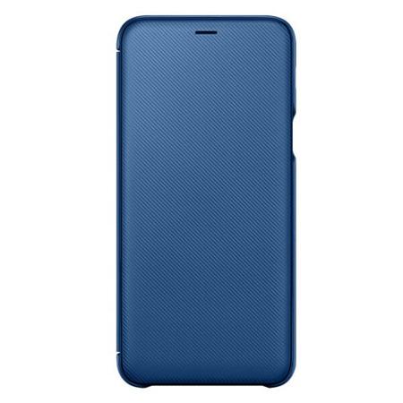 Etui Wallet Cover do Samsung Galaxy A6+ niebieskie