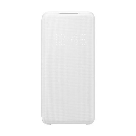 Etui do Samsung Galaxy S20 - LED Case biały