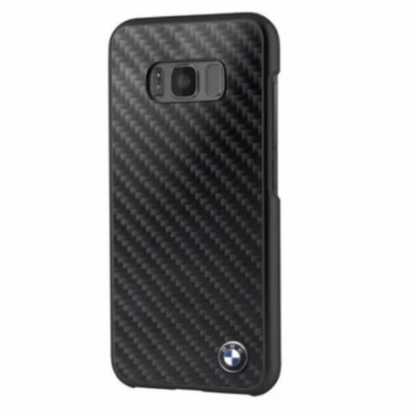Etui hardcase BMW Samsung Galaxy S8 G950 czarny/black Carbon