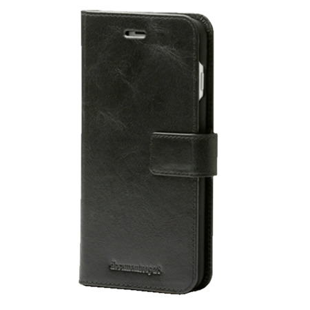 Etui skórzane Lynge 2 - iPhone 6 Plus/6s Plus/7 Plus/8 Plus Czarne