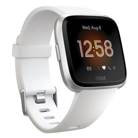 Fitbit Versa Lite biały/srebrne aluminium