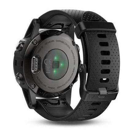 GARMIN Zegarek Fenix 5S czarny