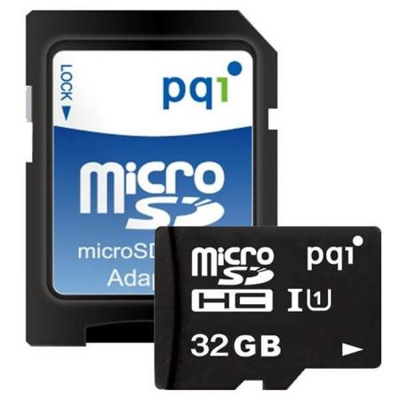 Karta microSD PQI 32 GB + adapter
