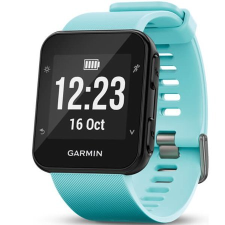 Smartwatch - Zegarek Garmin Forerunner 35 błękitny