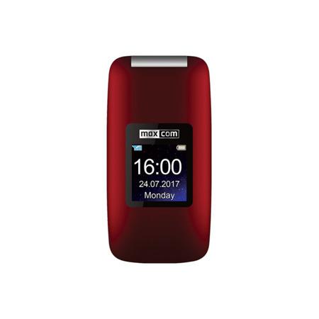 Telefon MaxCom MM824 czerwony