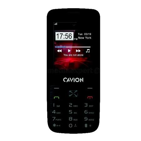 Telefon komórkowy Cavion Base 2.4 czarny