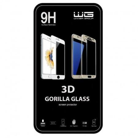 WG LG K10 (2017) Szkło Hartowane 3D czarne