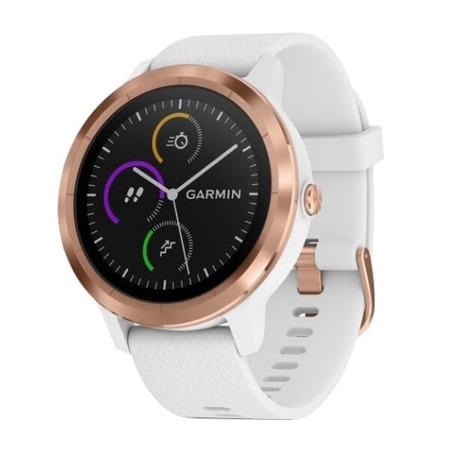 Zegarek - Smartwatch Garmin Vivoactive 3 biało-złoty