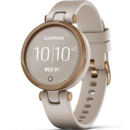 Zegarek smartwatch Garmin Lily Sport złoty